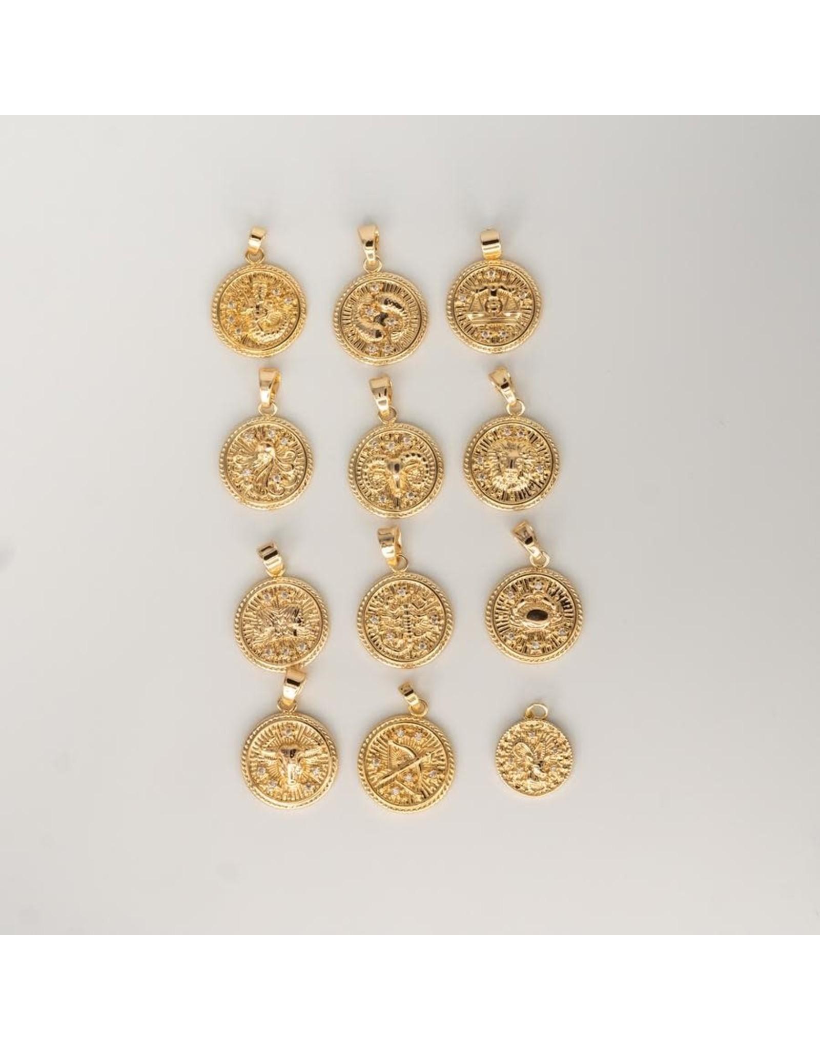Jewelry By Amanda Gemini Zodiac - Pendant