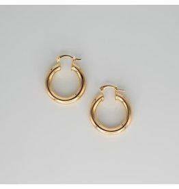 Jewelry By Amanda Gold Layla Hoops - Earrings