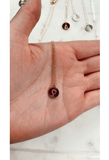 "Jewelry By Amanda Wine About It Neckalce-16"" Wine Pendant & Chain"