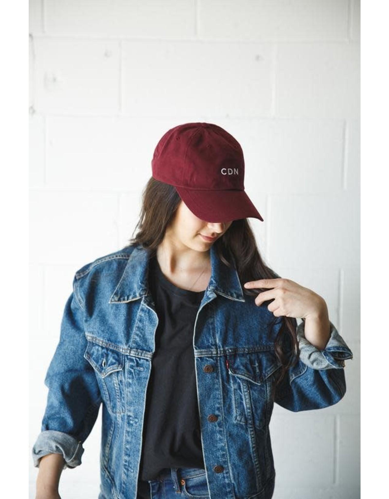 CDN CDN Maroon Classic Dad Hat