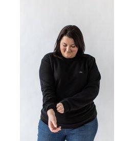 CDN Unisex Black Bamboo Patch Crewneck - Sweater