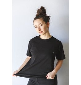 CDN Unisex Black Bamboo Patch Tee