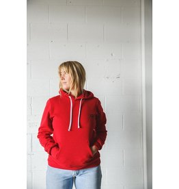CDN Unisex Red Bamboo Patch Hoodie
