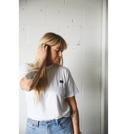 CDN Unisex White Bamboo Patch Tee
