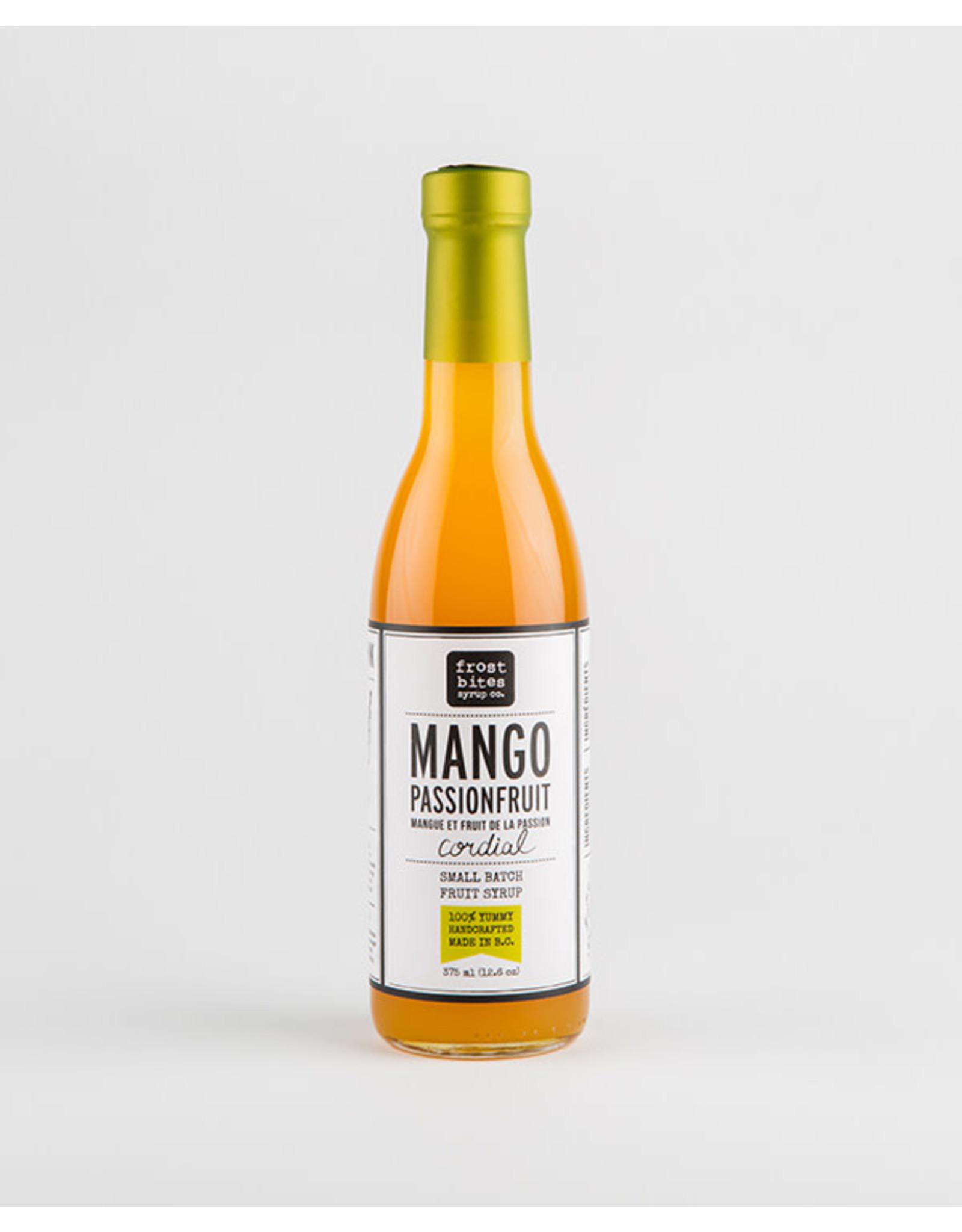 Frostbites Mango Passionfruit Cordial
