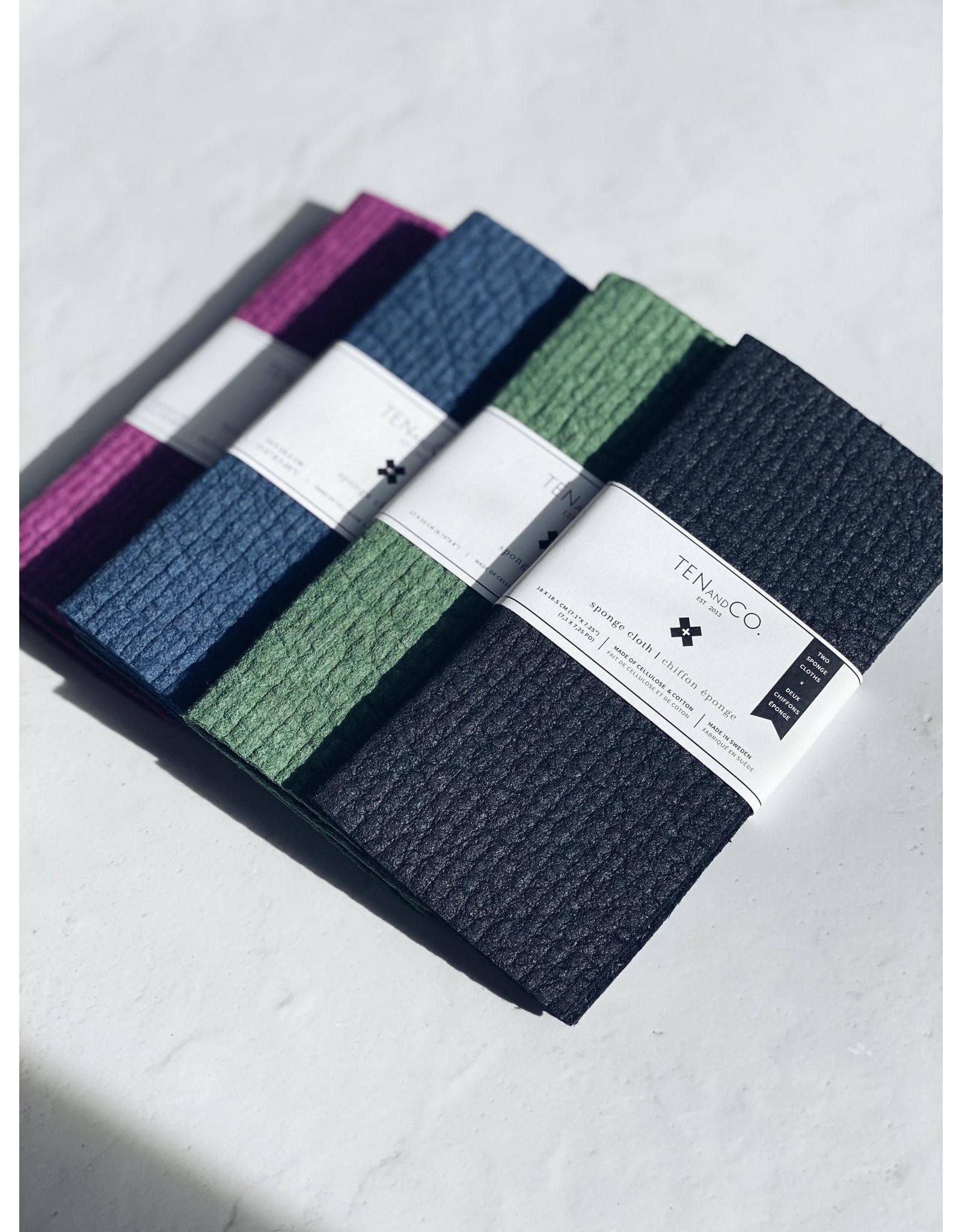 Ten & Co Sponge Cloth - 2 Pack