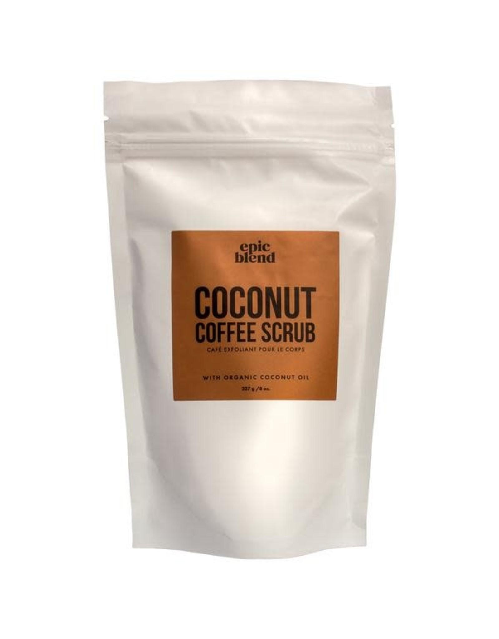 Epic Blend Coconut Coffee Scrub