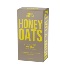 Epic Blend Honey Oats Exfoliating Bar Soap