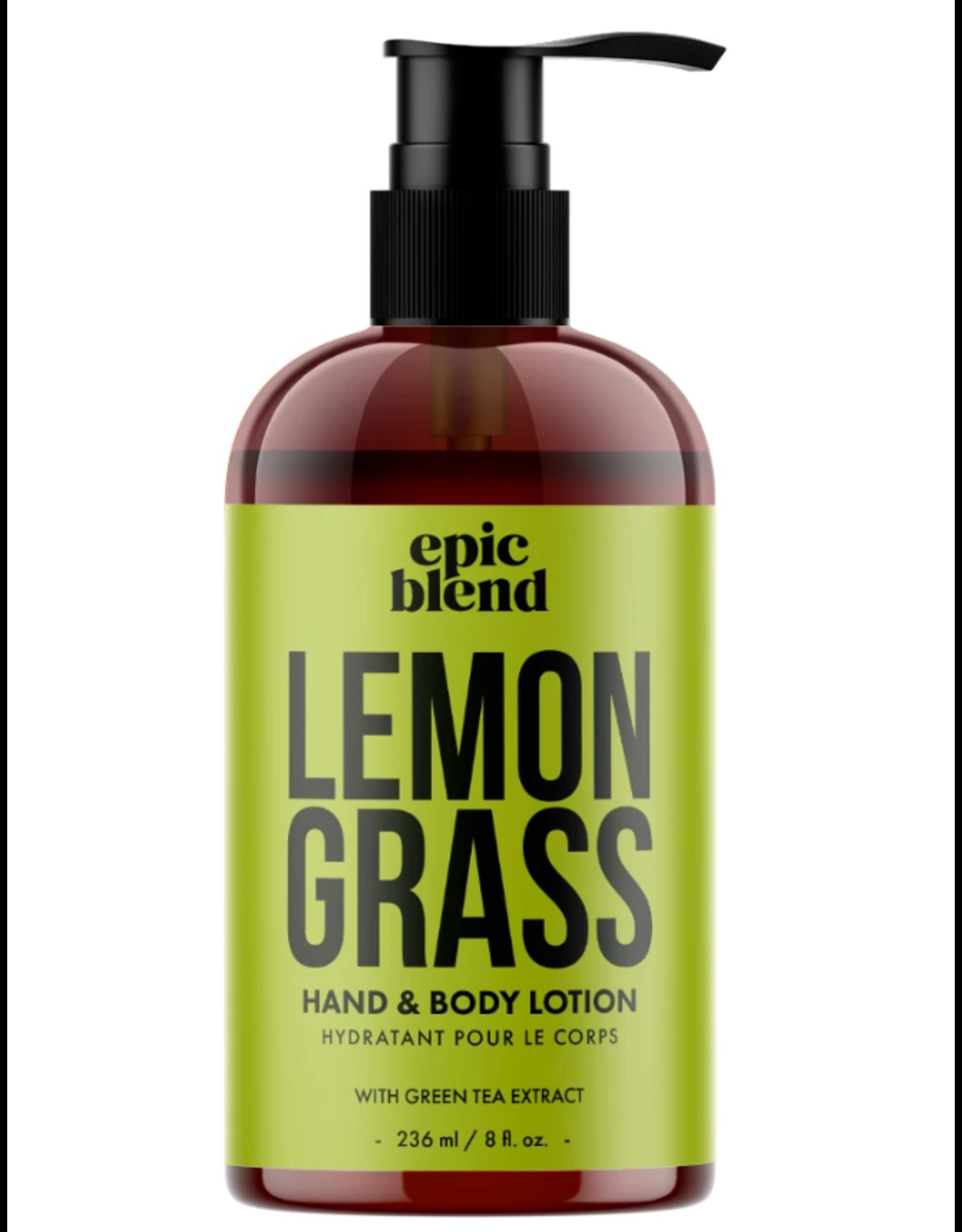Epic Blend Lemongrass Hand & Body Lotion