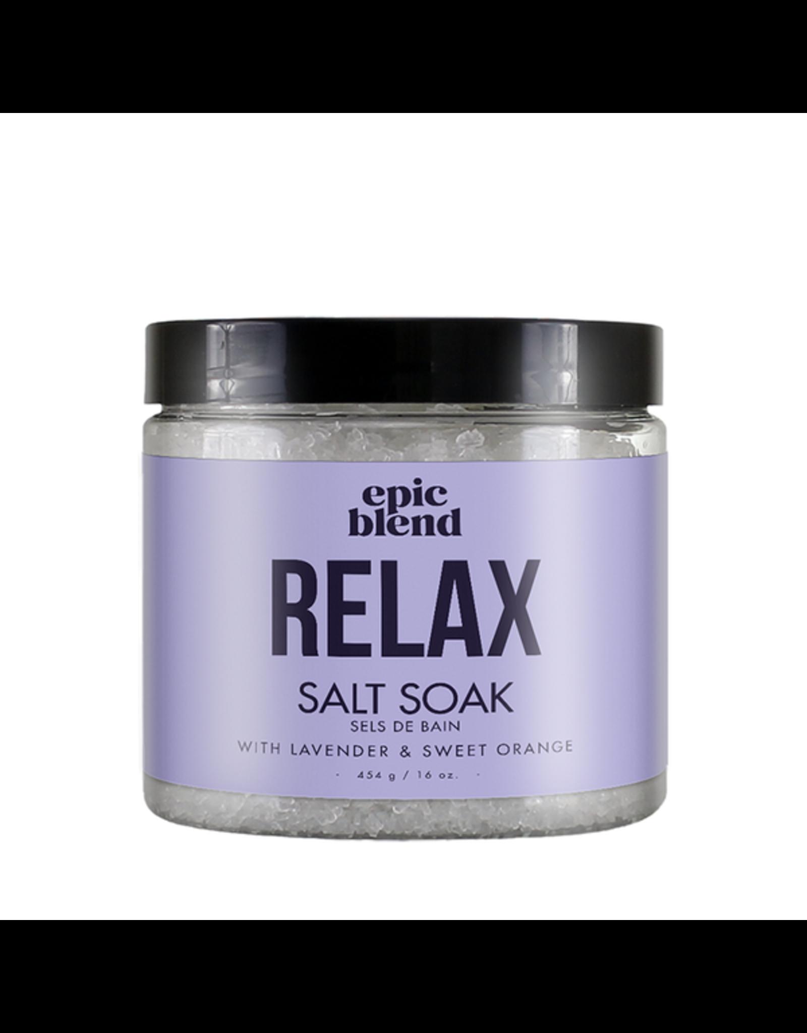 Epic Blend Relax Salt Soak