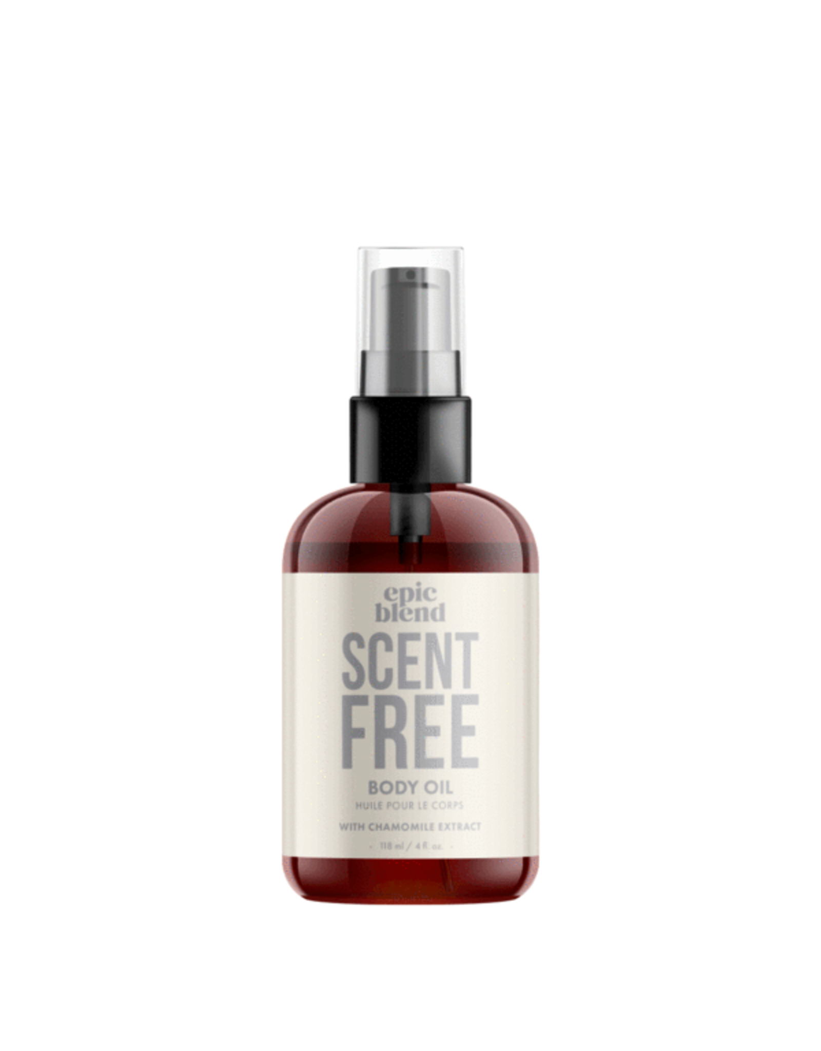 Epic Blend Scent Free Body Oil