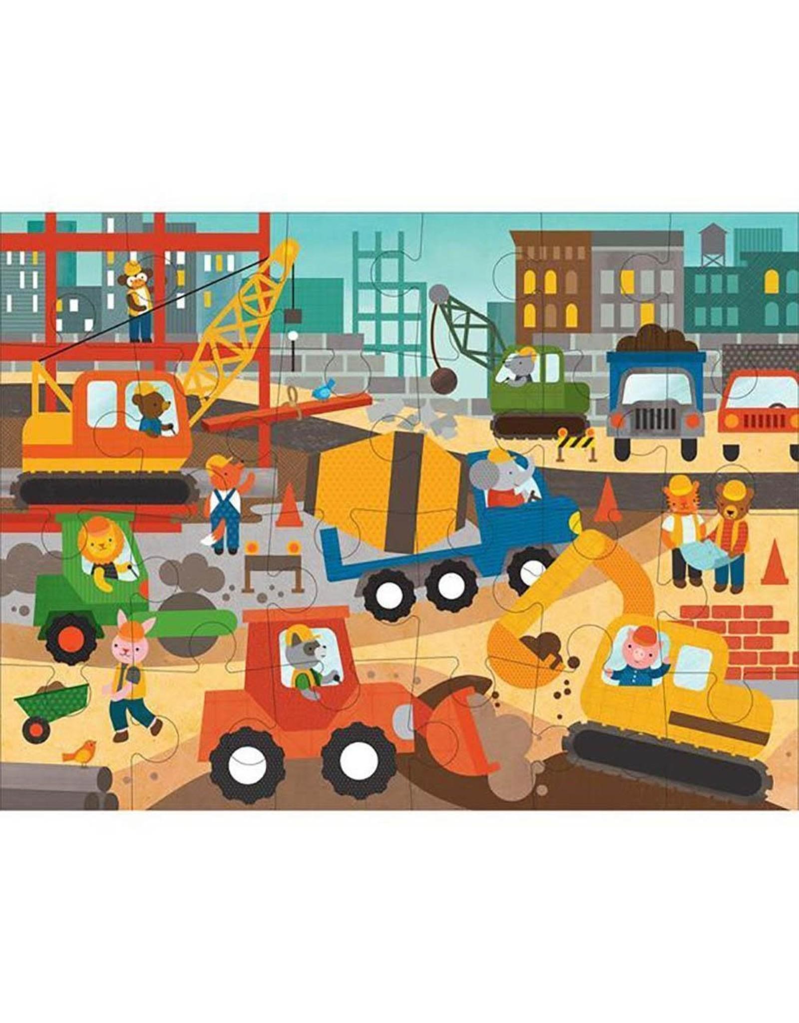 Floor Puzzle (3+) - Construction Site