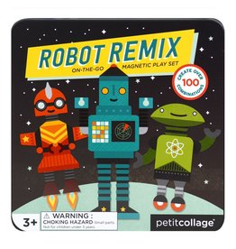 Magnetic Play Set - Robot Remix