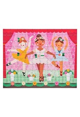 Petit Collage Double Sided On-The-Go 2 in 1 Puzzle - Ballerina