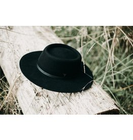 West Von Celeste | Telescope Boater - Noir