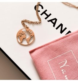 My World Necklace - Rose Gold
