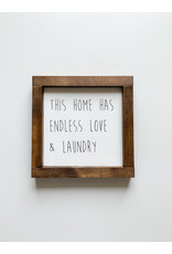 Hazel Collection Endless Love And Laundry 7.5 x 7.5