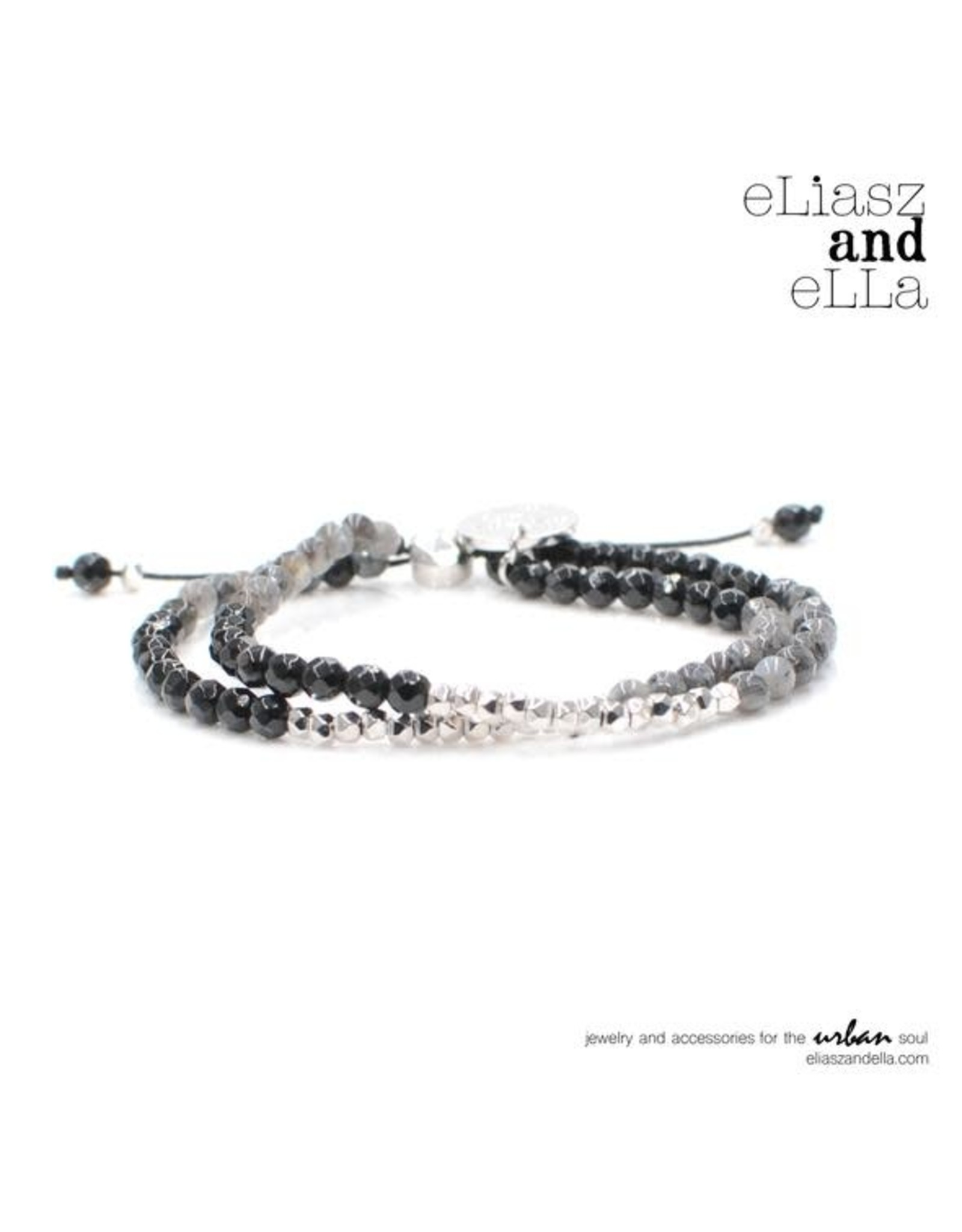 "eLiasz and eLLa ""Marquis"" Mixbead Stone Bangin' Bracelet"