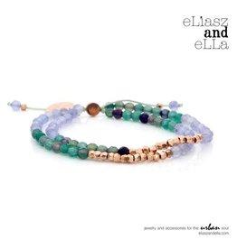 "eLiasz and eLLa ""Equinox"" Mixbead Stone Bangin' Bracelet"