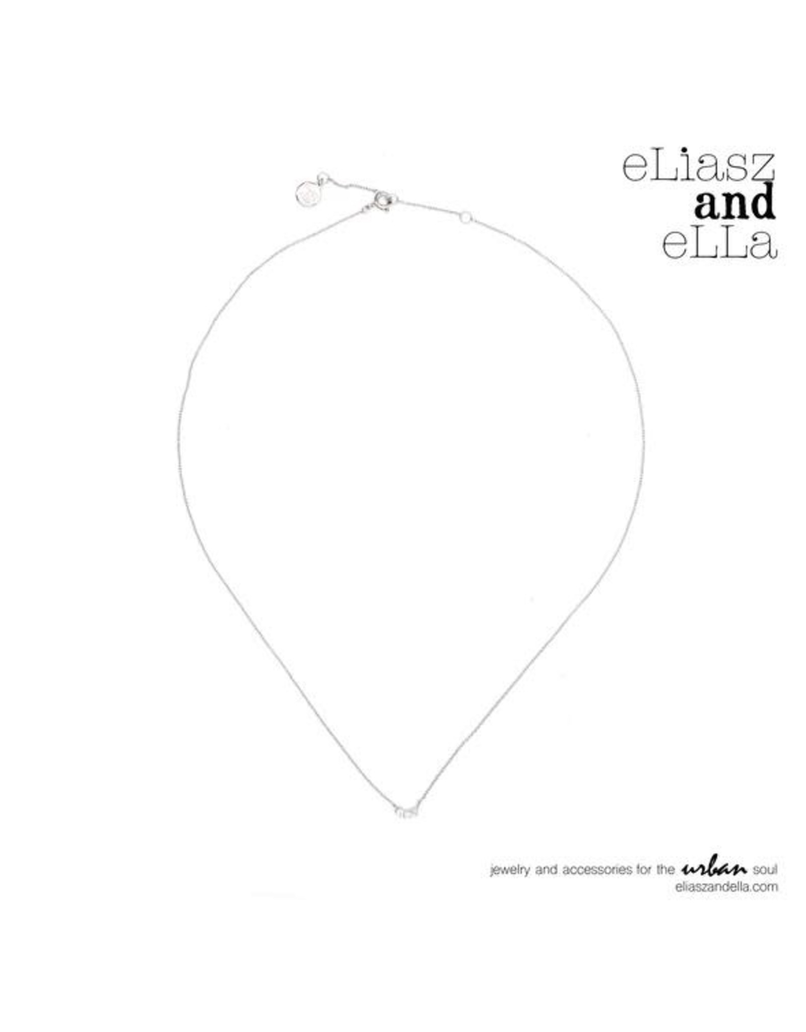 eLiasz and eLLa Silver Moonstone ''Illuminate'' Necklace
