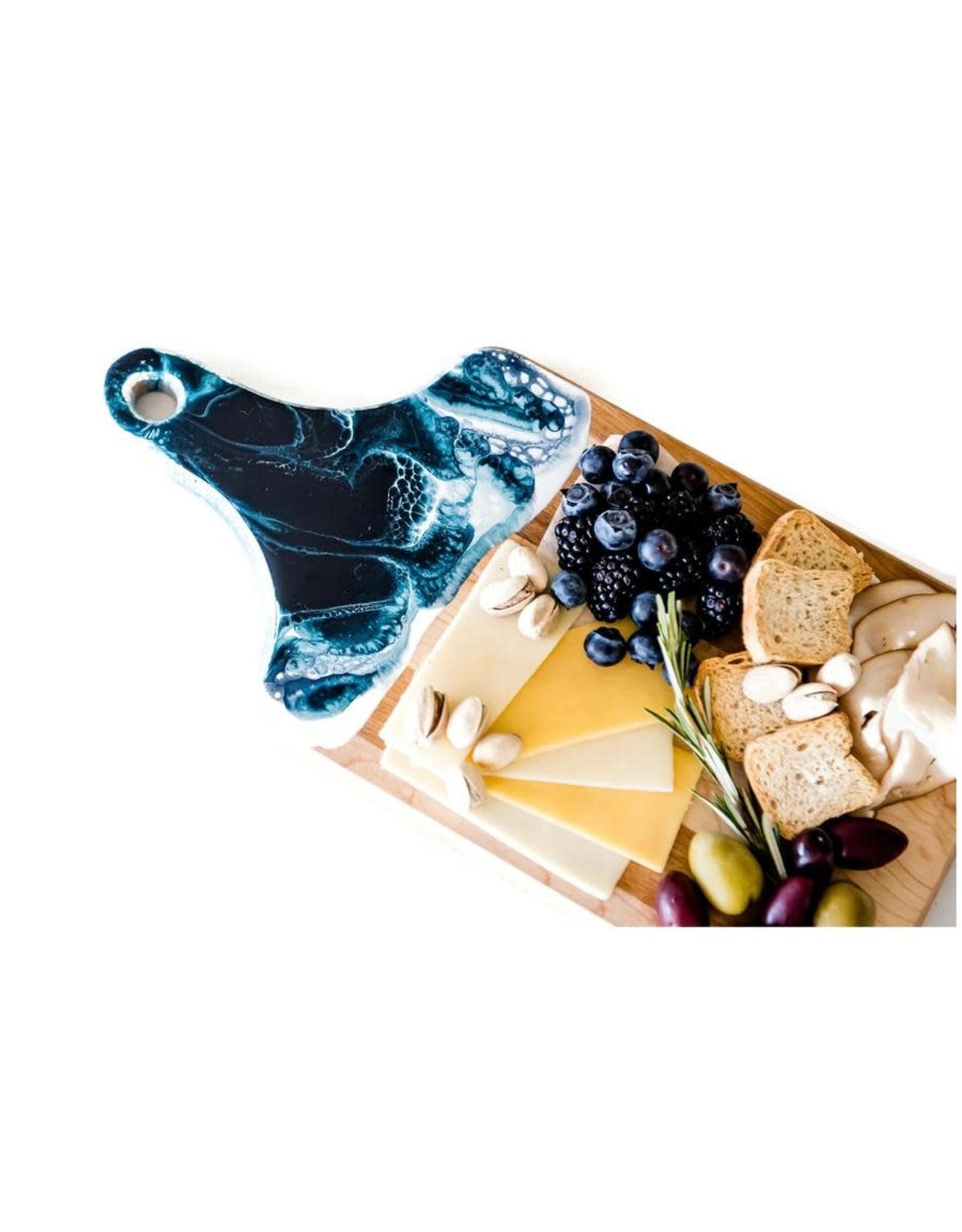 "Lynn & Liana Serveware Small Cheese Boards - 7"" x 14"""