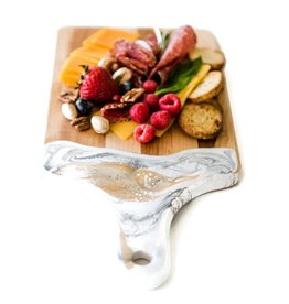 "Lynn & Liana Serveware Small Cheese Boards - 7"" x 14"""