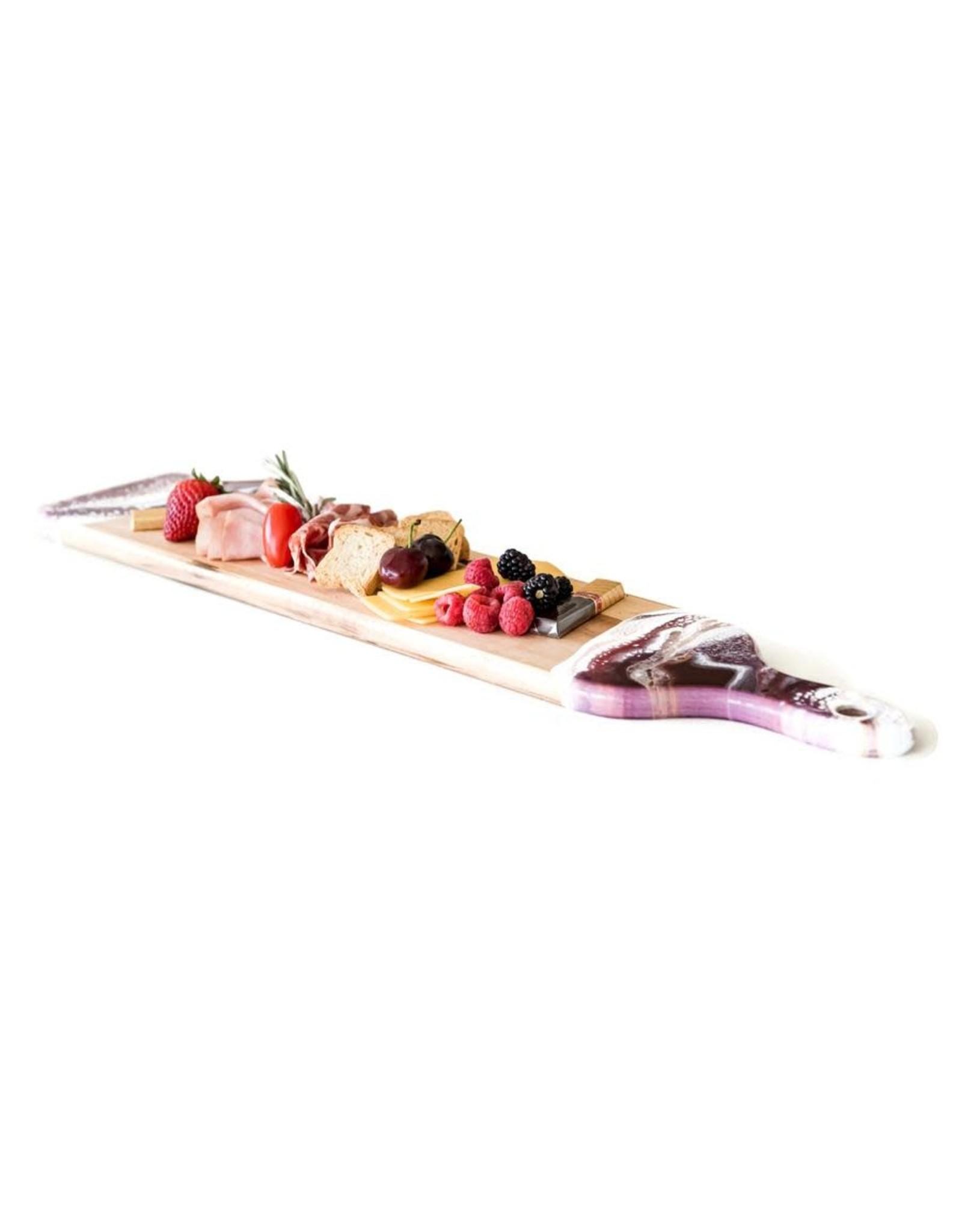 """Lynn & Liana Serveware Maple Baguette Boards - 5"""" x  24"""""""