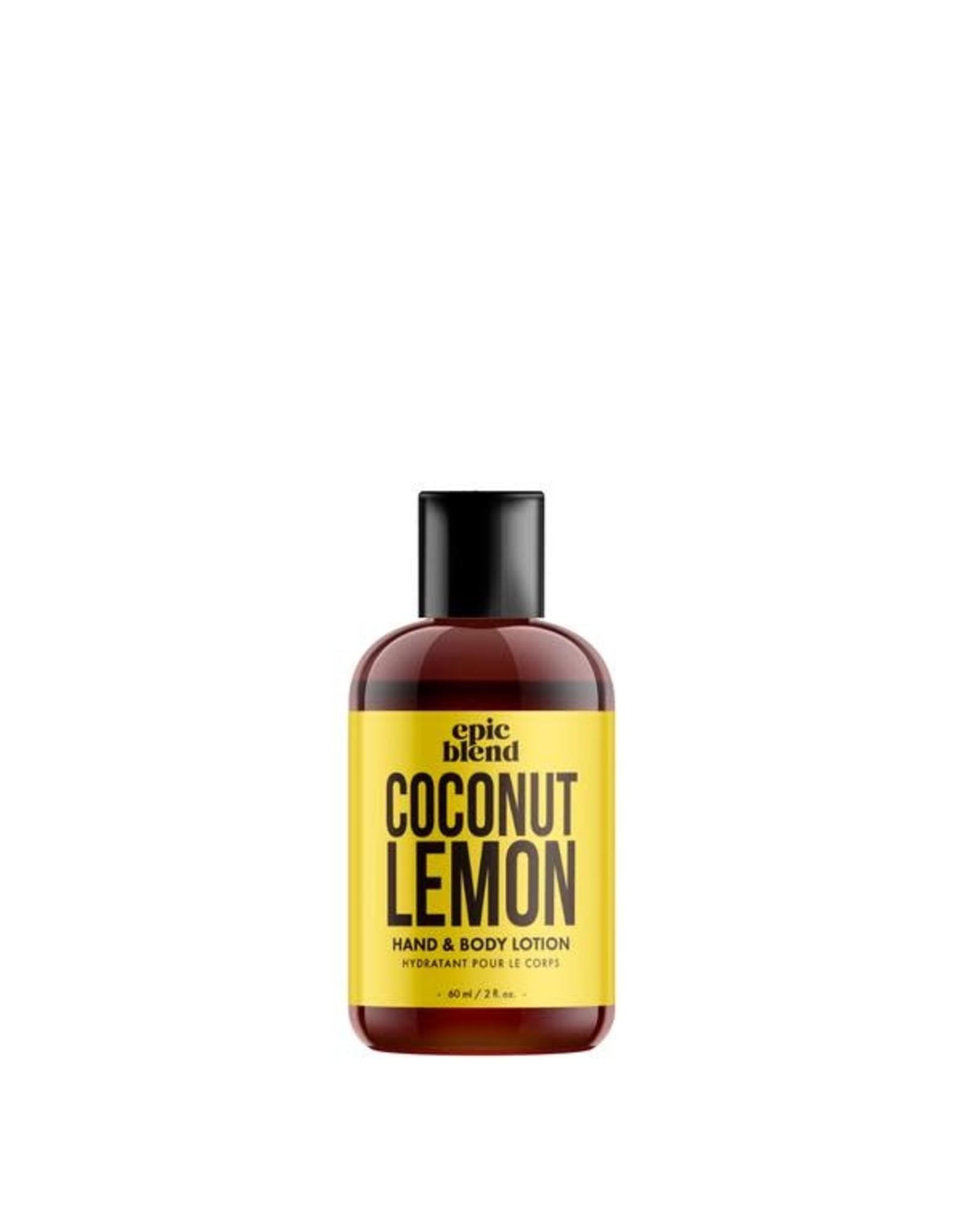 Epic Blend Coconut Lemon Hand & Body Lotion