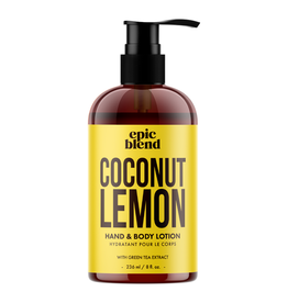 Epic Blend Coconut Lemon Hand & Body Lotion