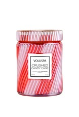 Voluspa Crushed Candy Cane - Candle