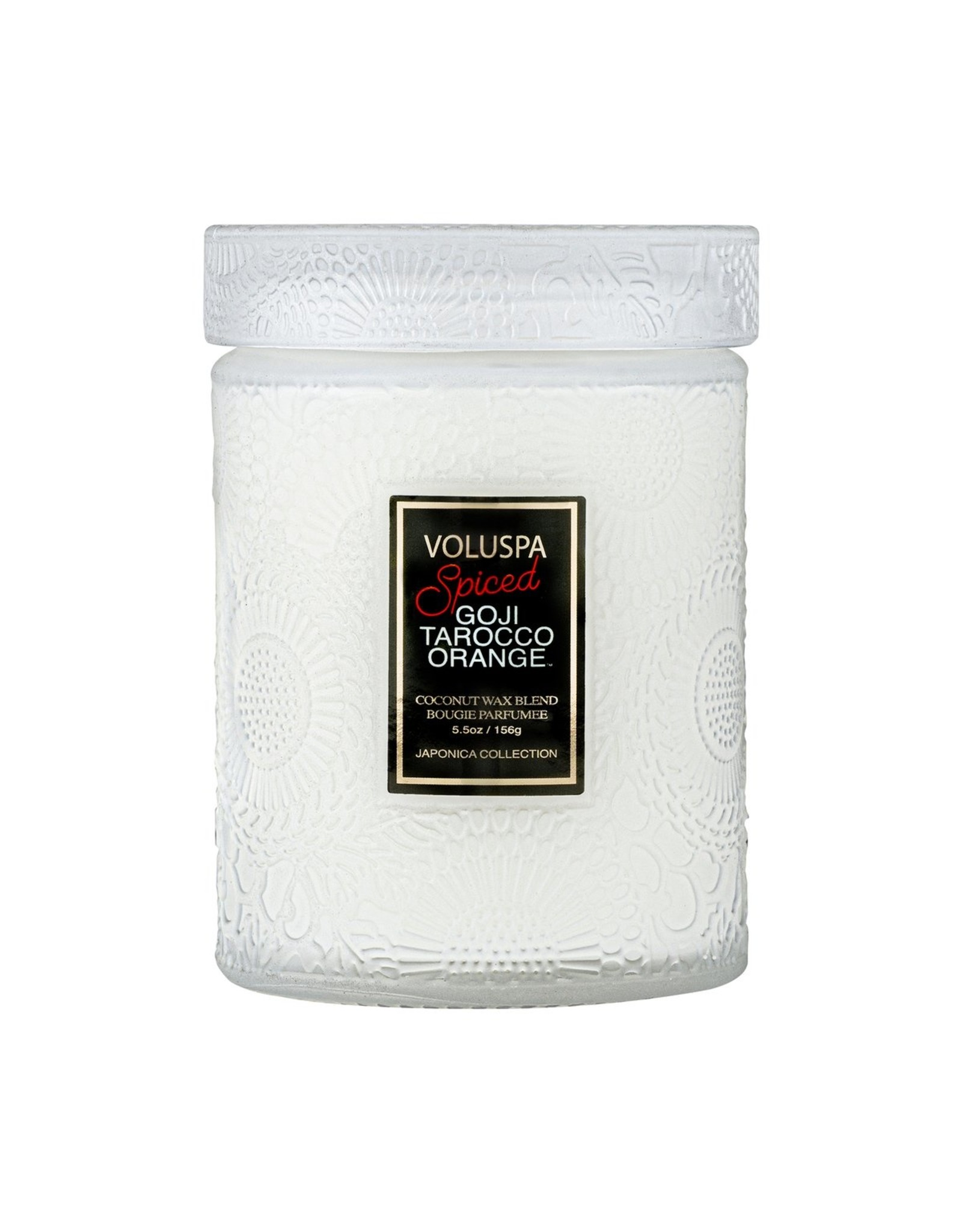 Voluspa Spiced Goji Tarocco Orange - Candle