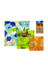 Variety Set of 3 Beeswax Wraps
