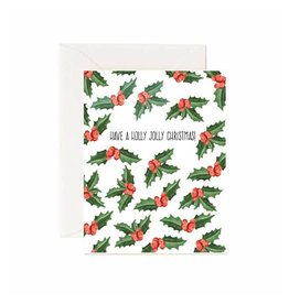 Jaybee Designs Have a Holly Jolly Christmas - Card