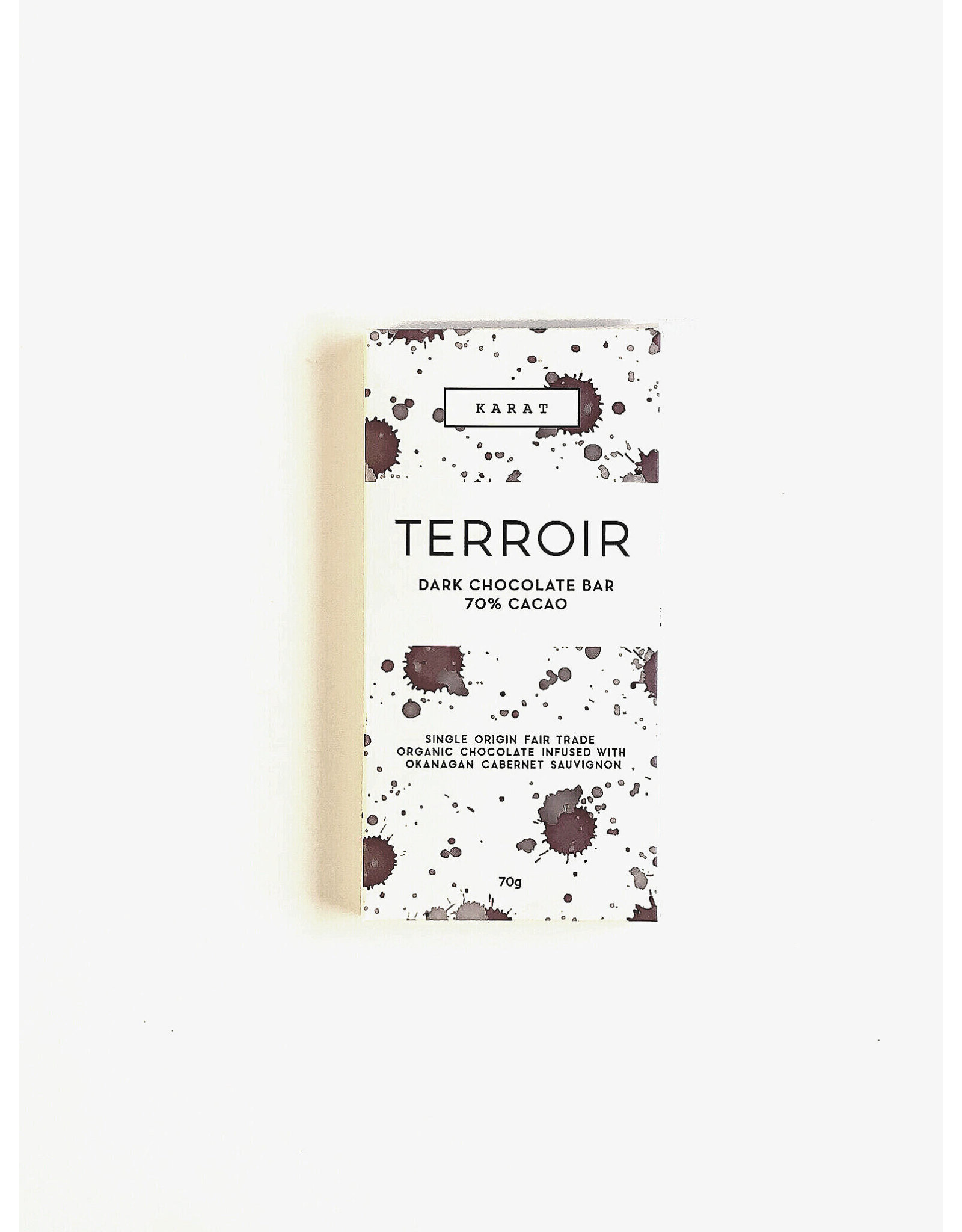 Karat Chocolate Terroir Dark - Chocolate Bar