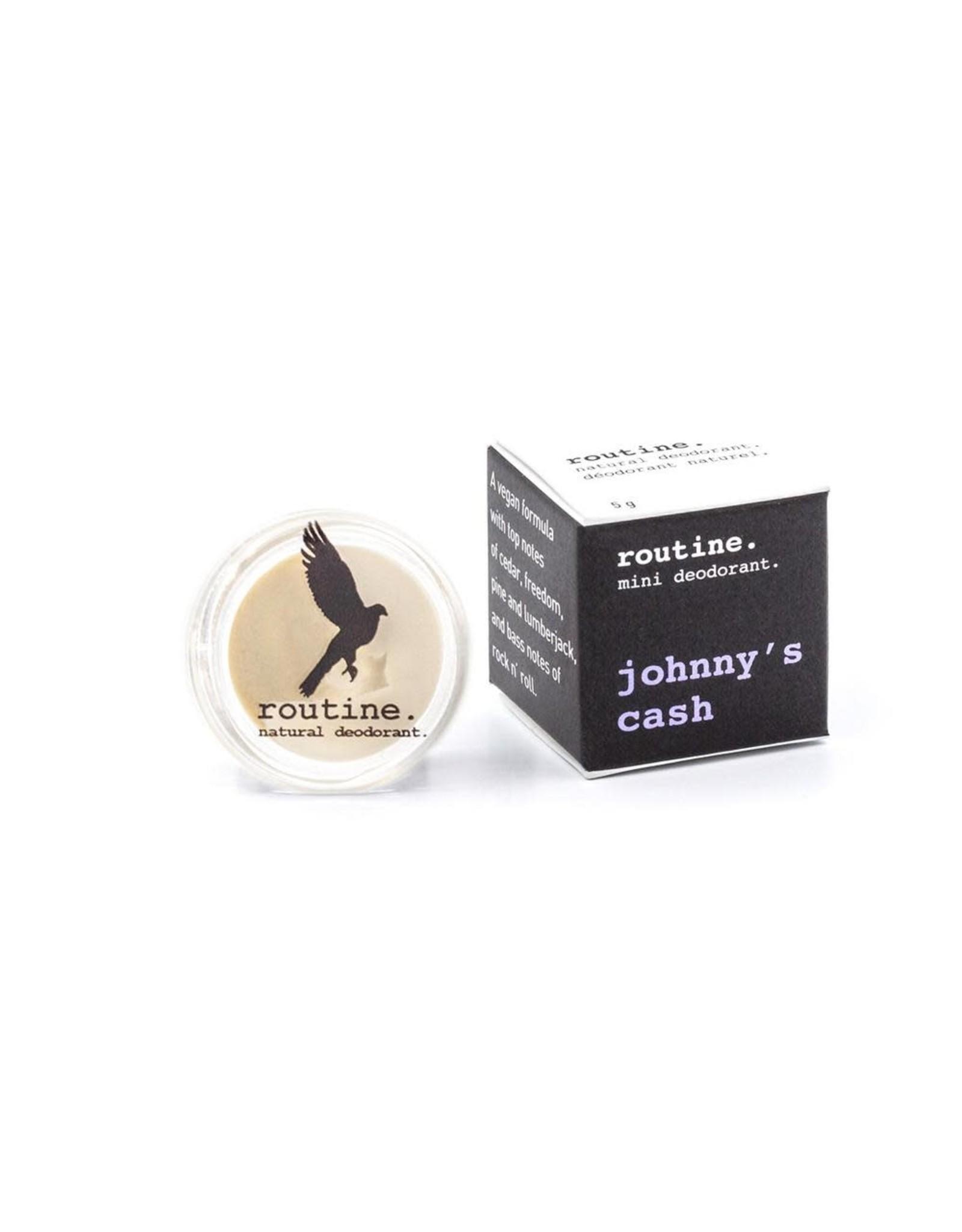 Routine Johnny's Cash - (Vegan: no beeswax)