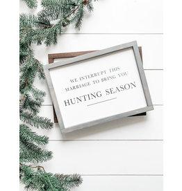 Hazel Collection Hunting Season 11.5 x 11.5