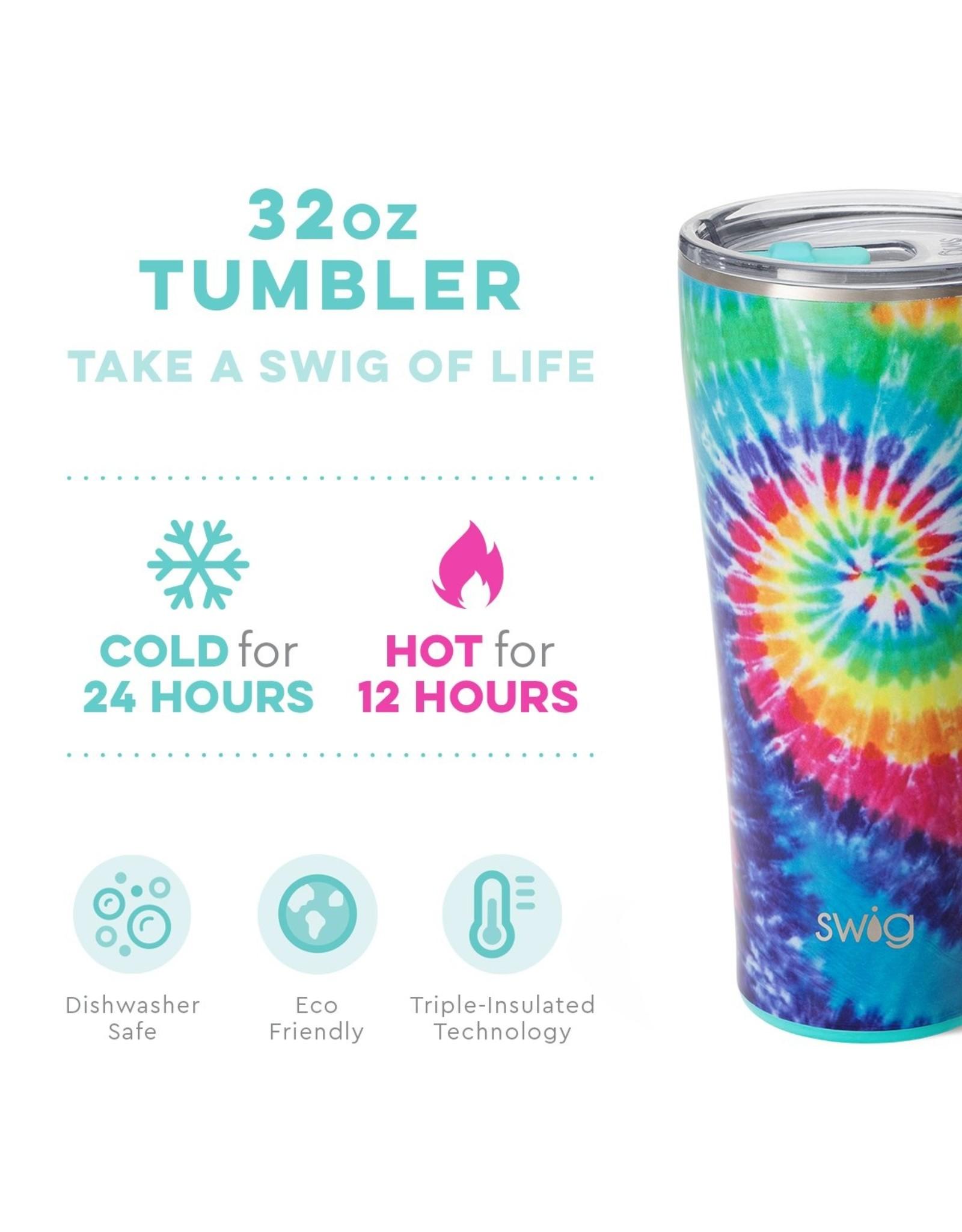 Swig 22 oz Tumbler - Swirled Peace