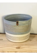 Two Tone with Twine - Pale Blue