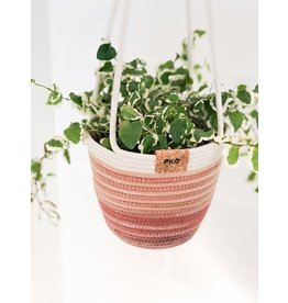 Hanging Basket - Variegated Terracotta