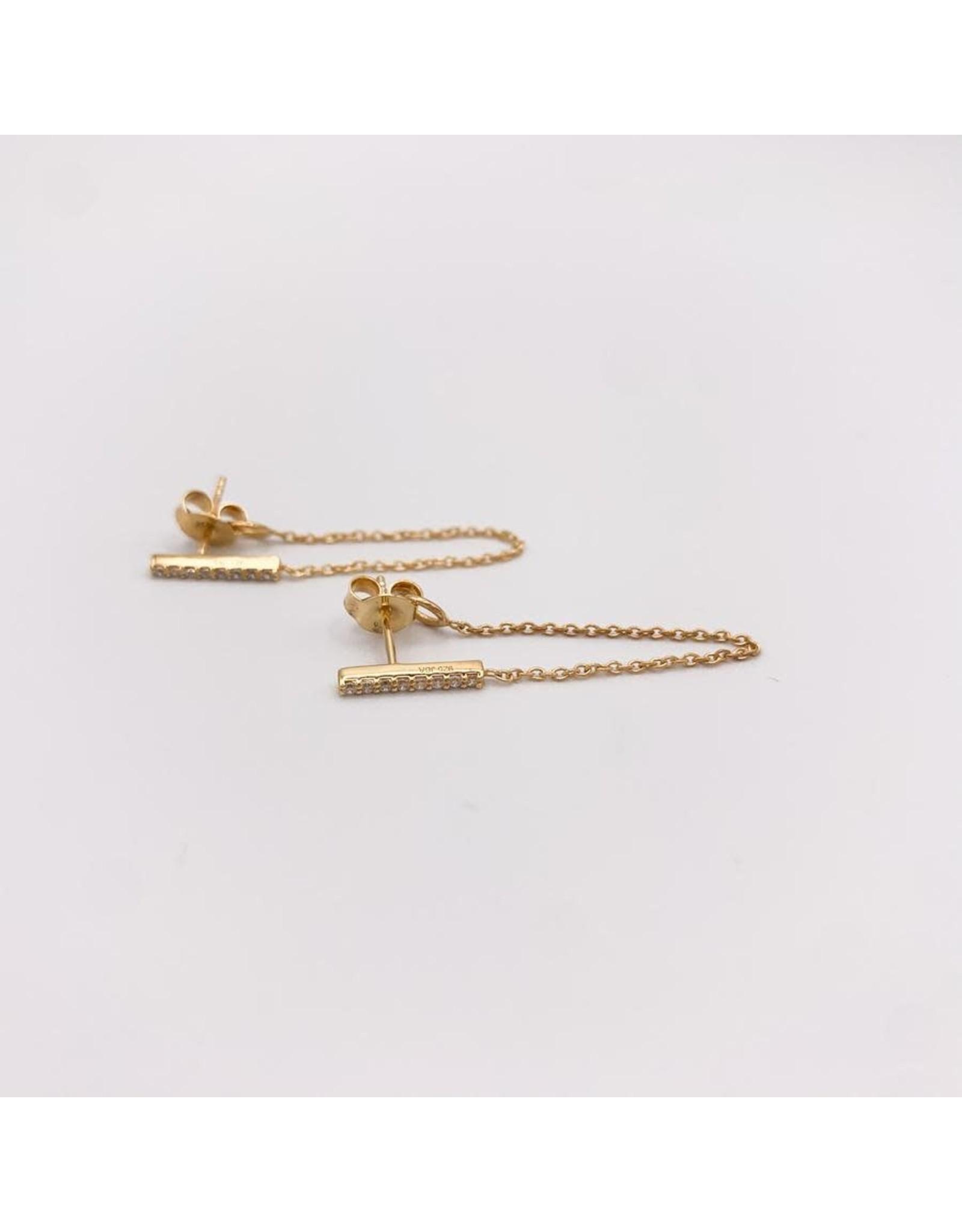 Jewelry By Amanda Gold Genoa Drop Earrings