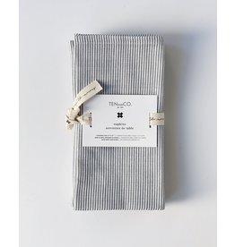 Ten & Co Napkins- Denim Stripes