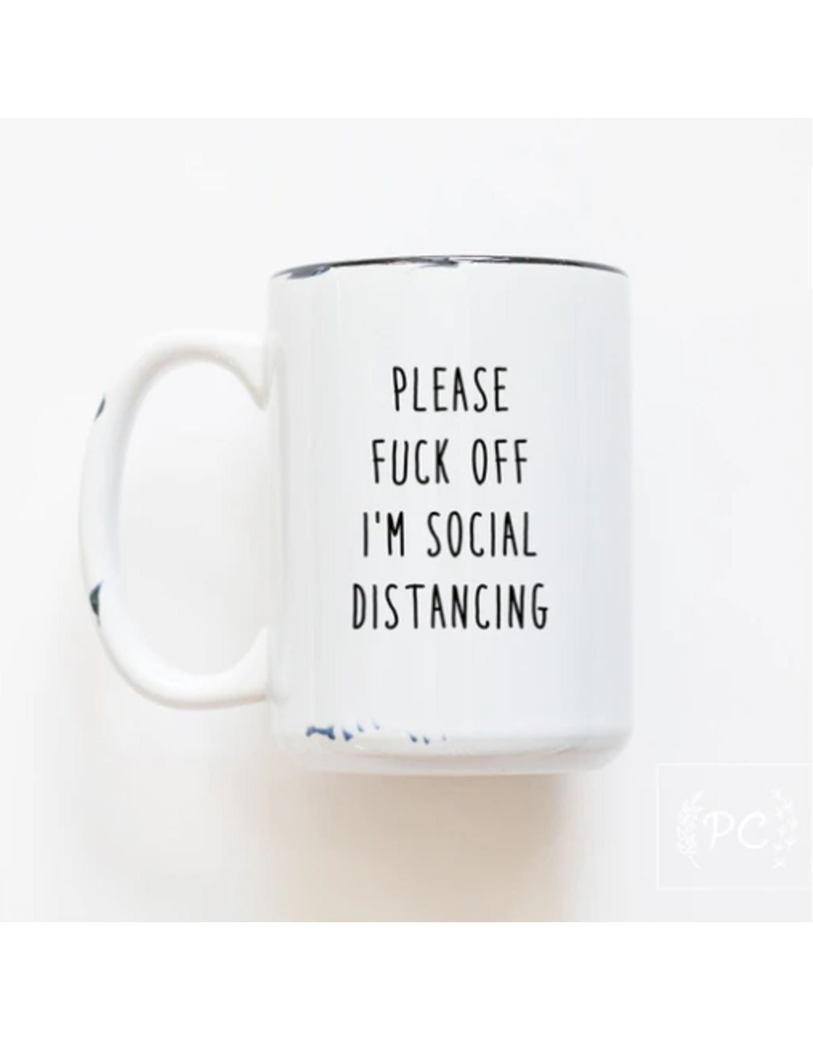 Praire Chick Prints Social Distancing - Mug