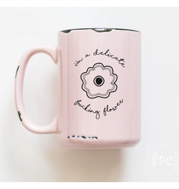 Praire Chick Prints Delicate Fucking Flower - Mug
