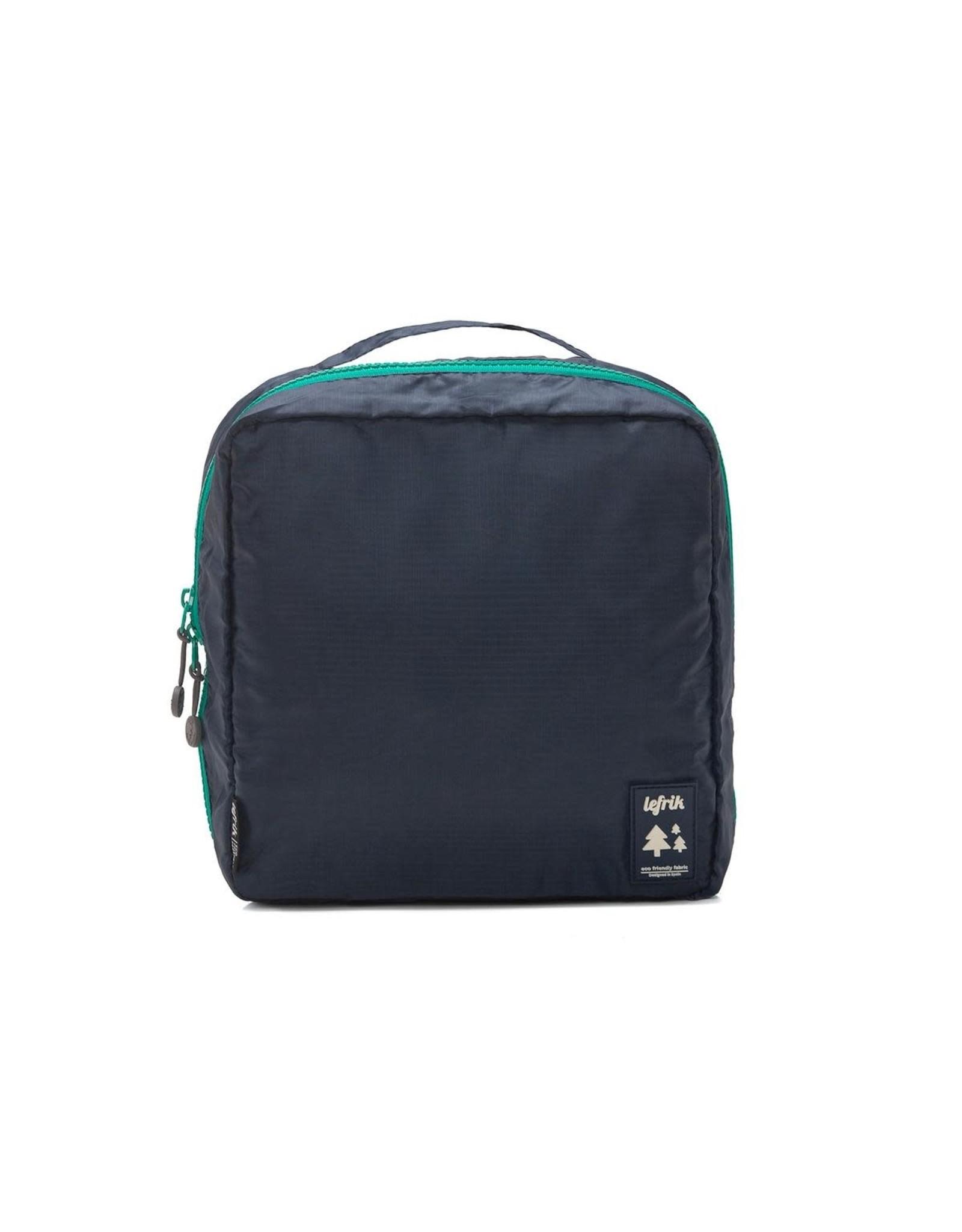 LEFRIK MULTIWASH  BAG - Navy/Green