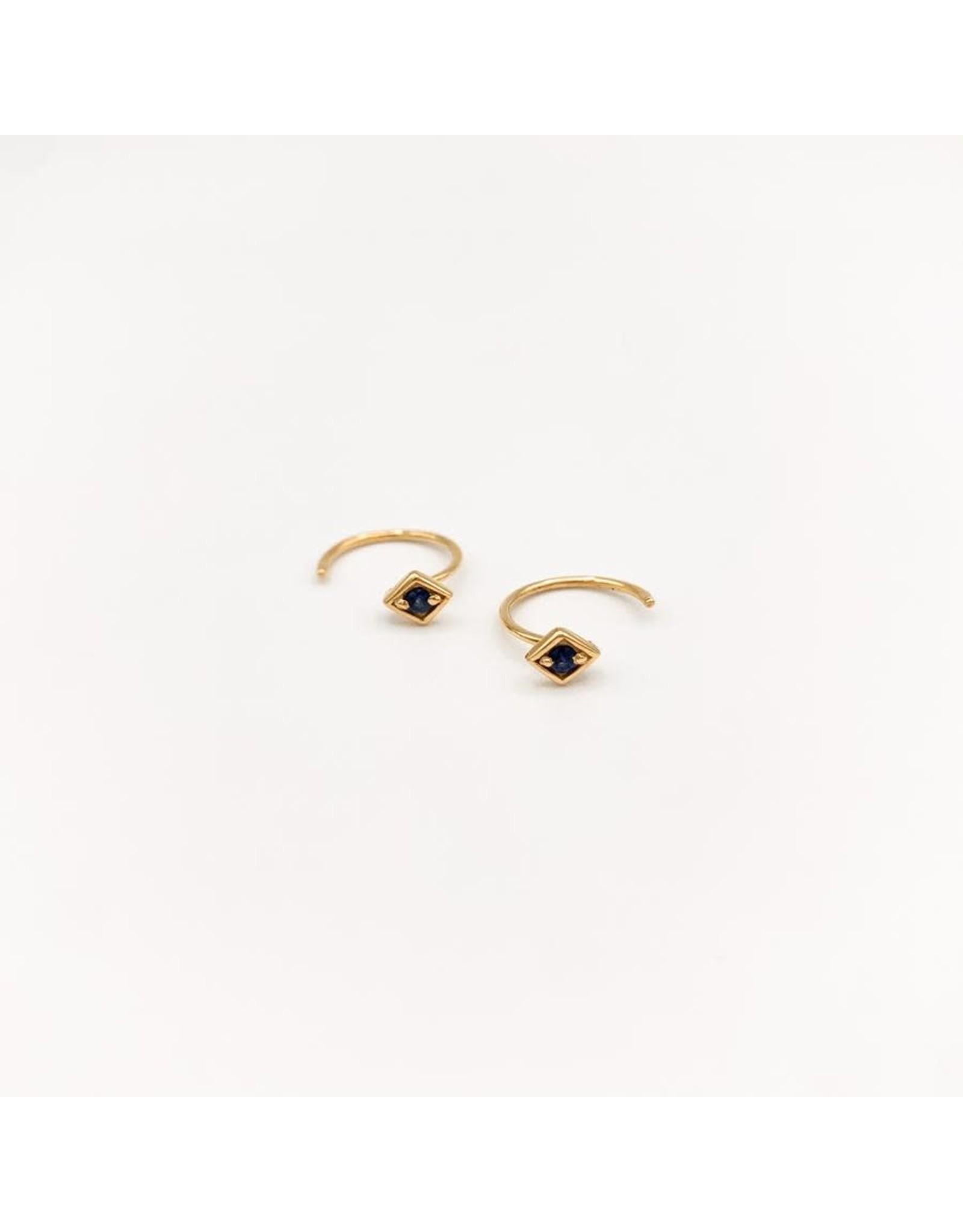 Jewelry By Amanda Gold Sapphire Leo Cuffs