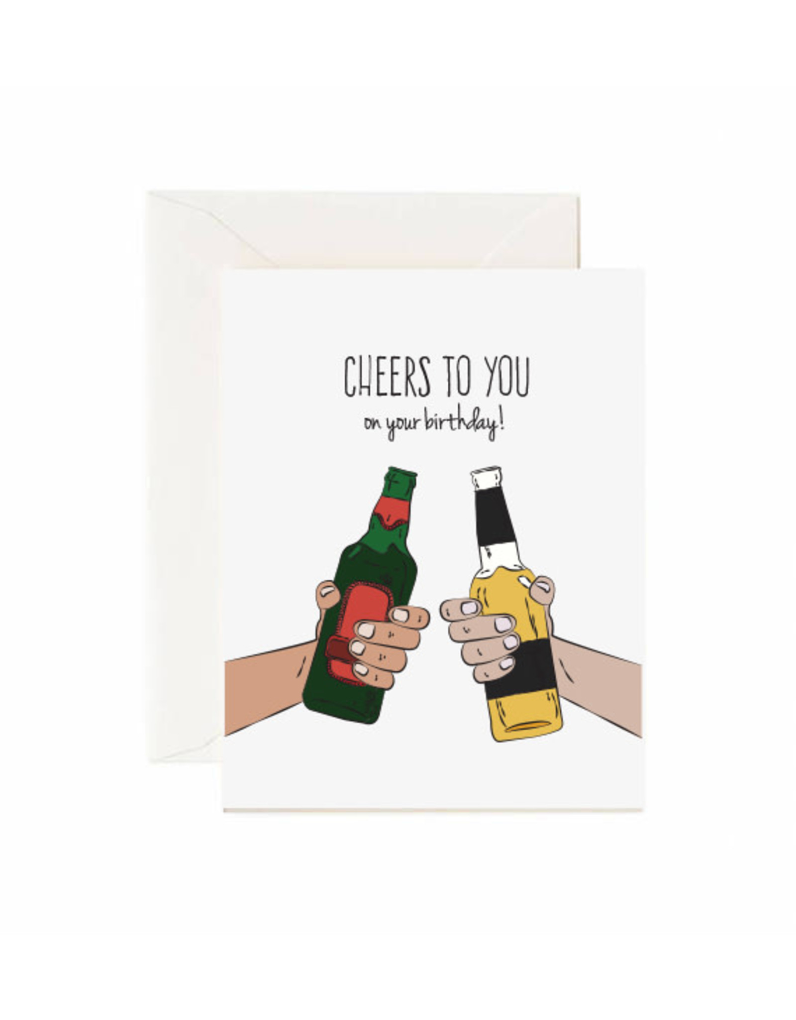 Jaybee Designs Cheers To You On Your Birthday - Card