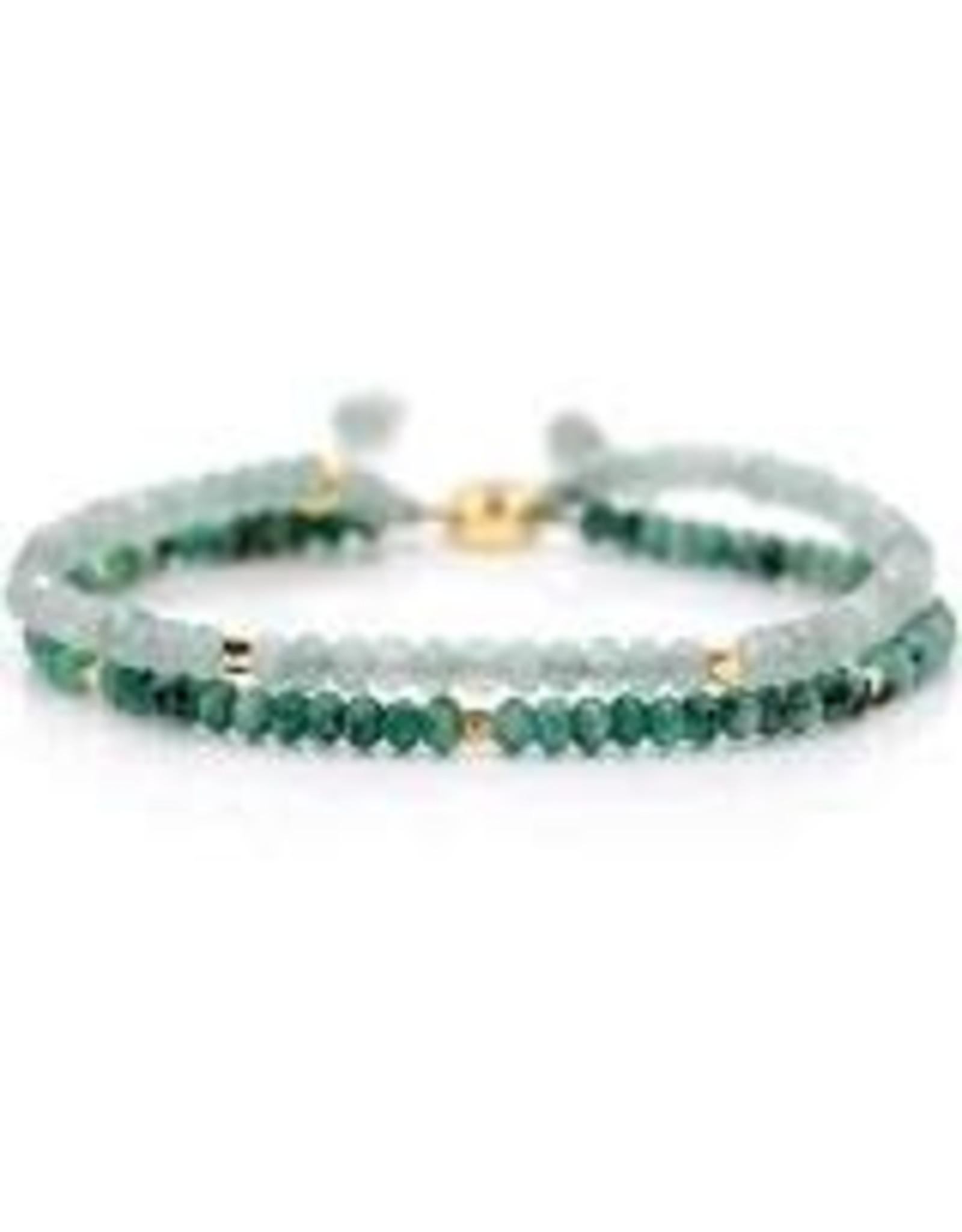 "eLiasz and eLLa ""Seascape"" Stone Bangin' Bracelet"