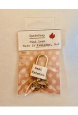 SpadeGrey Best Friends Mini Lock