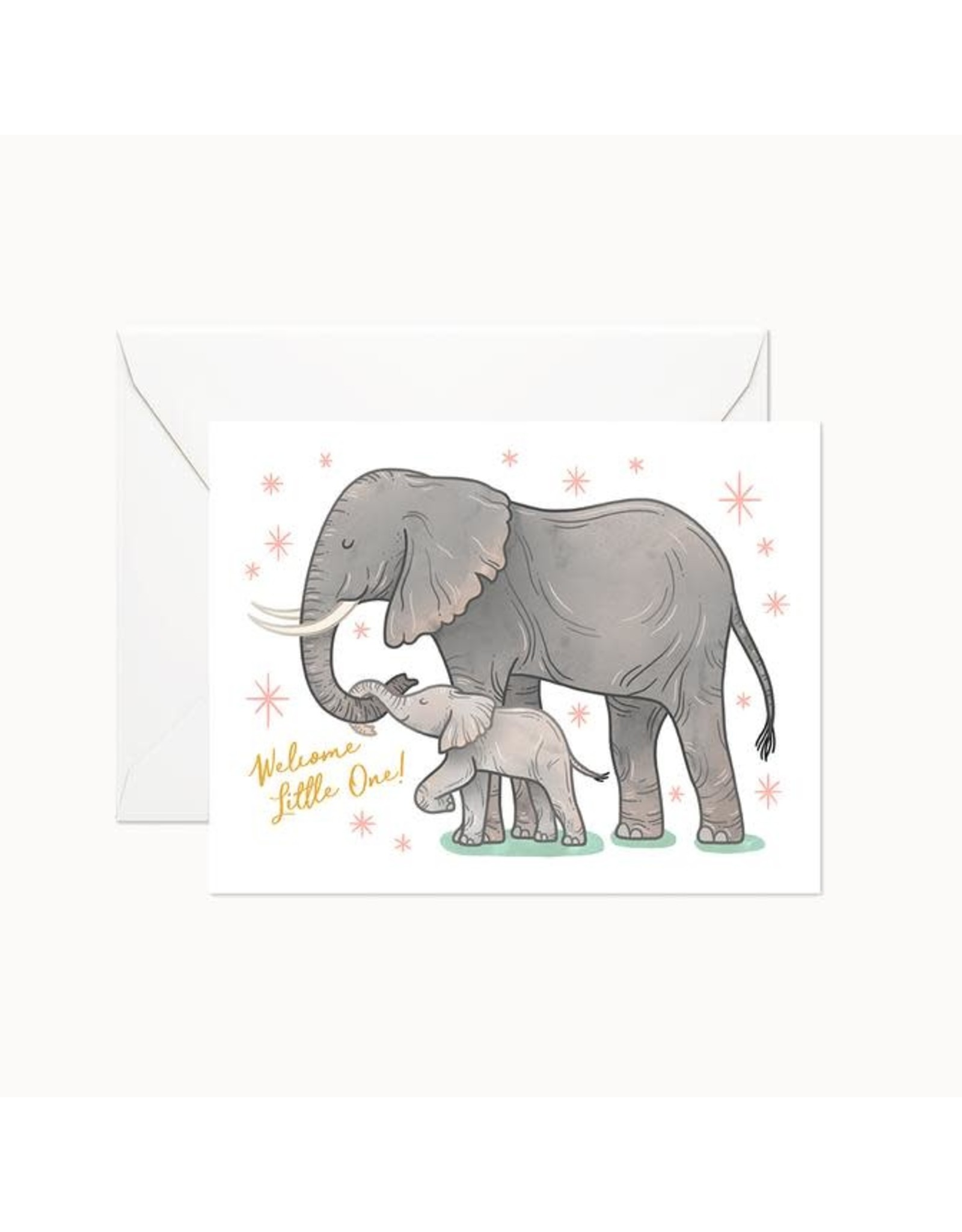 Linden Paper Co. Welcome Little One Card