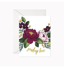 Linden Paper Co. Sending Love Card